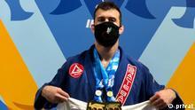 USA Orlando |Ehsan Sam Rajabi, Jiu Jitsu-Weltmeister |Protest Hinrichtung Navid Afkari