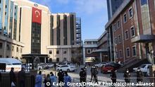 Türkei Gaziantep | Coronavirus | Brand auf Intensivstation, Todesopfer