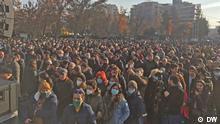 Armenien Proteste gegen Premierminister Nikol Pashinyan