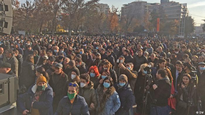 Протести в Єревані 19 грудня