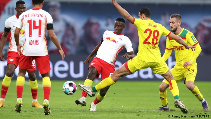 RB leipzig vs 1. FC Köln .