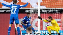 Fußball Bundesliga Borussia Mönchengladbach v TSG Hoffenheim Tor 1:2