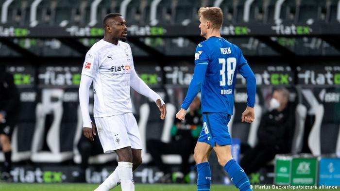 Borussia Mönchengladbach vs TSG Hoffenheim.