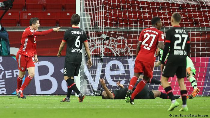 Bayer 04 Leverkusen v FC Bayern München.