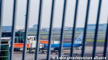 Schiphol Flughafen COVID-19 KLM