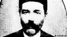 Iranischer Dichter und Schriftsteller Mohammad Bagher Mirza Khosravi (1887-1919) Quelle des Bildes: ketabrah