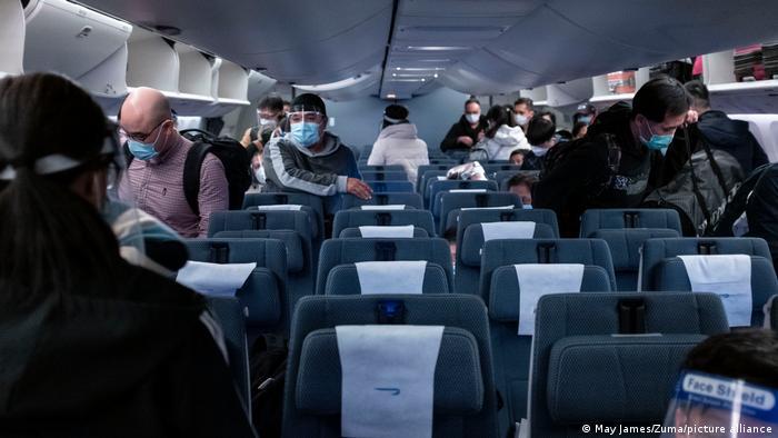Hongkong |Flugzeug British Airways, Passagiere