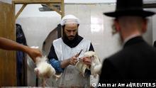 Israel Jerusalem 2012 | Schlachtung von Huhn, Jom Kippur