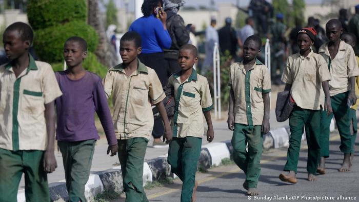 Nigeria Katsina   Boko Haram-Angriff auf Schule   Freilassung