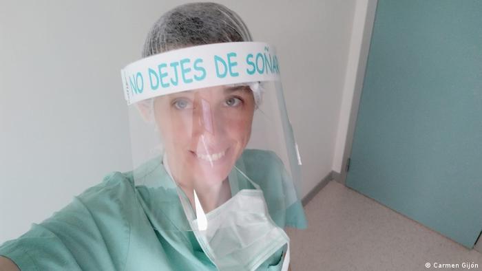 Spanien Madrid   Intensivmediziner in der Pandemie