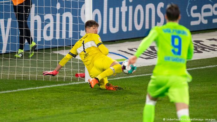 Fußball Bundesliga VfL Wolfsburg vs. VfB Stuttgart Tor 1:0