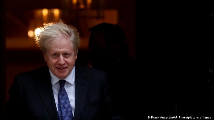 Prim-ministrul Marii Britanii, Boris Johnson