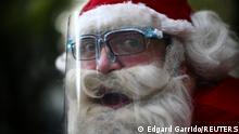 Bildergalerie Corona & Weihnachten |Mexiko, Weihnachtsmann