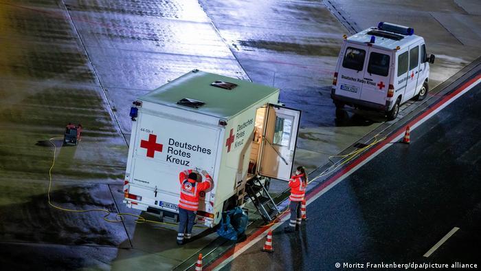 Germania Coronavirus aeroport Hanovra control Africa de Sud Marea Britanie