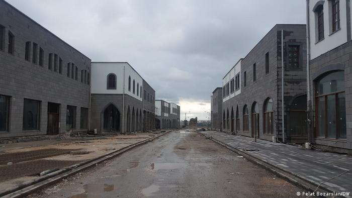 Tarihi Sur ilçesinde yapılan yeni konutlar