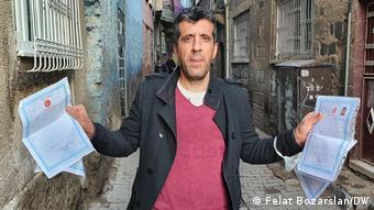 Ali Kartal kira yardımı alamadıklarını söylüyor