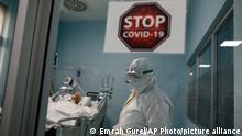 Türkei Coronvirus Ilhan Varank-Krankenhaus