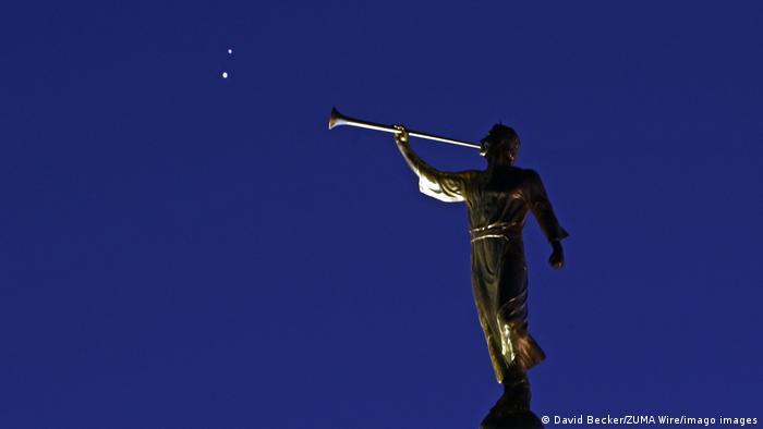 Saturn and Jupiter Conjunction, Las Vegas, Nevada
