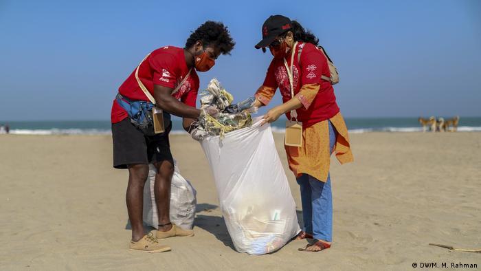 Bangladesch   International Coastal Cleanup in Saint Martin Island, Cox's Bazar