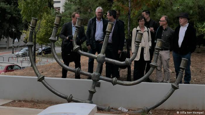 Griechenland   AK Gedenkstätten NRW in Thessaloniki