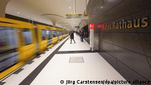 Deutschland Berlin |Linie U5 | Neuer U-Bahnhof Rotes Rathaus