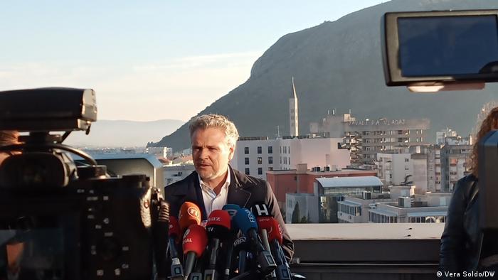Bosnien und Herzegowina |Wahl in Mostar | Johann Sattler, EU- Sonderbeauftragter