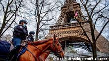 Frankreich Paris | Coronavirus | Landesweiter Lockdown