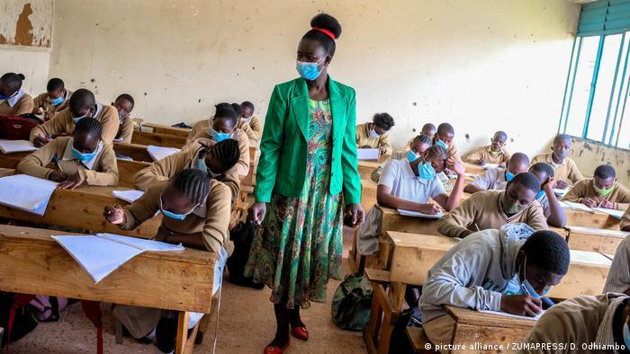 Školski razred u Nairobiju