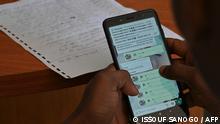 Elfenbeinküste | schüler im Online Unterricht