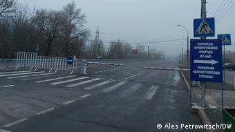 Пустая из-за закрытых границ дорога Брест - Варшава