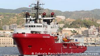 24.09.2019 Italien Ocean Viking Rettungsschiff