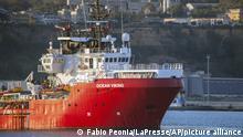 Italien Ocean Viking Rettungsschiff