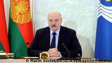 Belarus Präsident Alexander Lukashenko