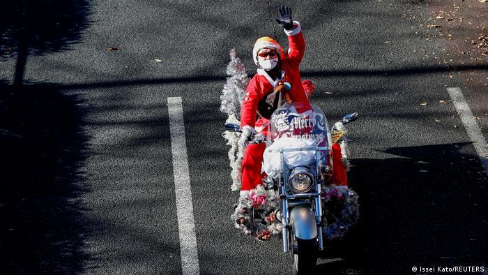 Sinterklas dalam Social Distancing di Japan