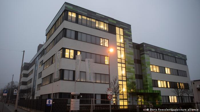 BioNTech-Zentrale im rheinland-pfälzischen Mainz