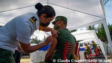 Mexiko Coronavirus Testlauf für Impfungen