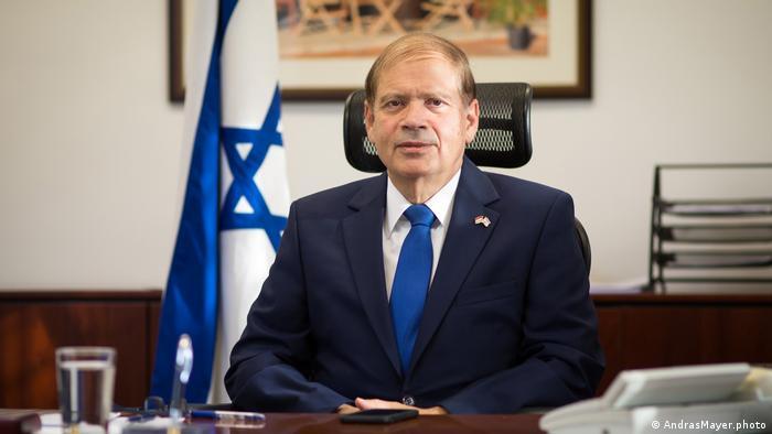 Ungarn Israelischer Botschafter Yakov Hadas-Handelsman
