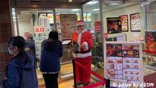 Japan Yokohama | Warten aufs Essen | KFC in Japan