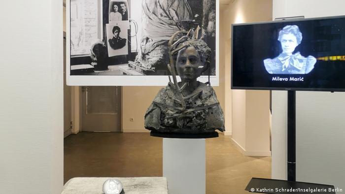 Izložba o Milevi Marić na kojoj je otkrivena njena bista, Insel-Galerie Berlin