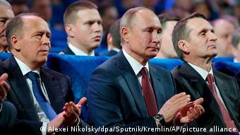 Ο πρόεδρος Πούτιν στους εορτασμούς της επετείου