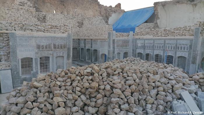 يسعى برنامج تعزيز التراث العراقي إلى إعادة إحياء المباني القديمة