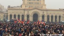 Nationalstreik in Armenien | Eriwan