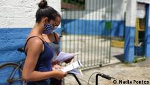 Brasilien Sao Paulo Ende des Jahres für brasilianische Schülern und Schülerinnen