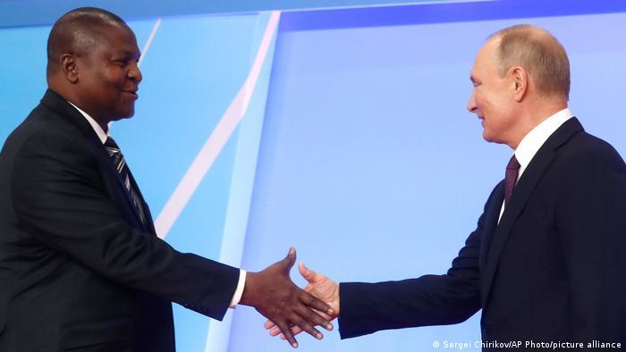 Арканж Тудора Фастина и Владимир Путин