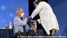 USA Corona-Pandemie Impfung   Dr. Anthony Fauci