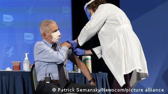 USA Corona-Pandemie Impfung | Dr. Anthony Fauci