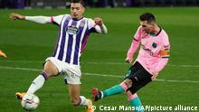 Spanien La Liga | Messi | Valladolid gegen Barcelona