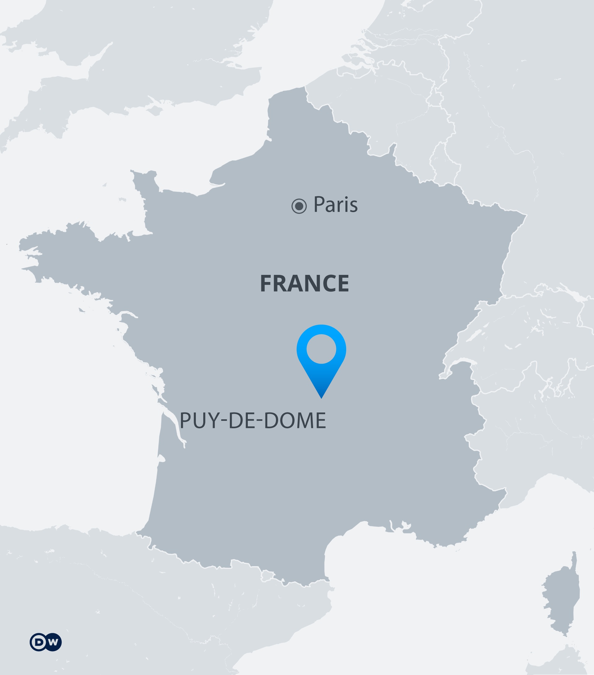 Three police officers shot dead in central France