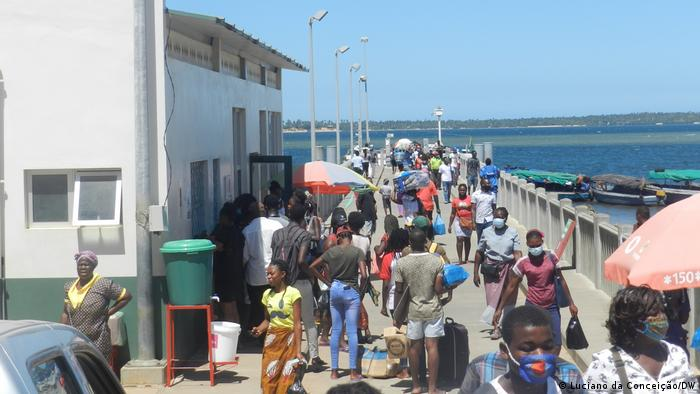 Mosambik I Inhambane Covid-19