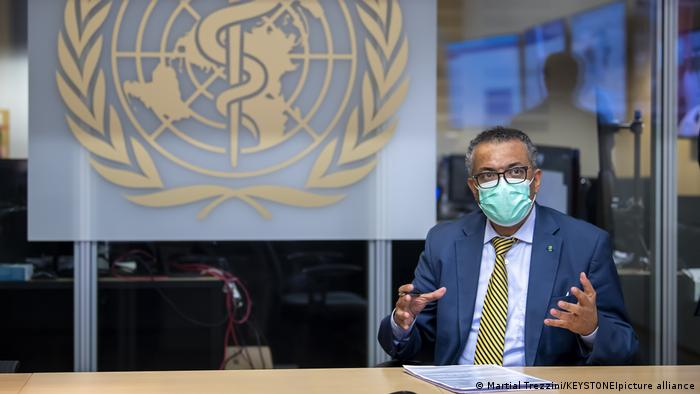 تدروس آدهانوم، رئیس سازمان بهداشت جهانی